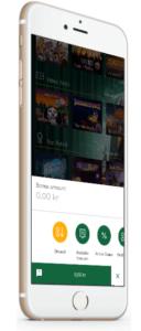 lykkehjul på mobil app casino