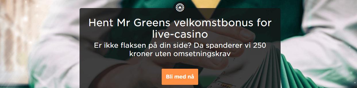 mr green live casino Test av Mr Green Live Casino