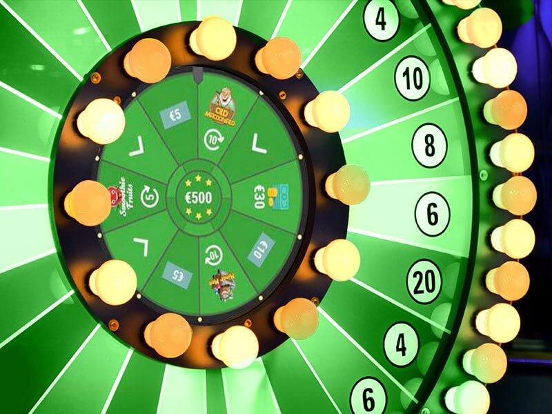 Lykkehjul og bingo på Unibet