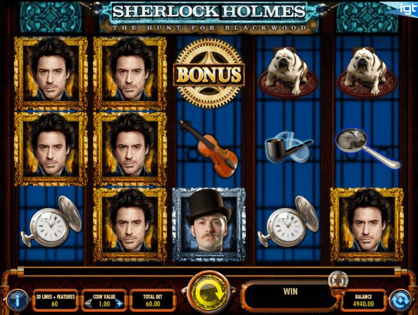 Sherlock Holmes - The Hunt for Blackwood